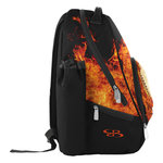 Boombah Tyro Backpack Fire Ball