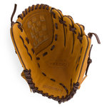 Boombah Veloci GR Fastpitch Glove with B7 Basket-web Brown