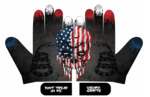 Unicorn Patriotic Adult Batting Gloves