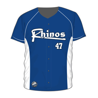 Arnhem Rhinos Full Button Jersey