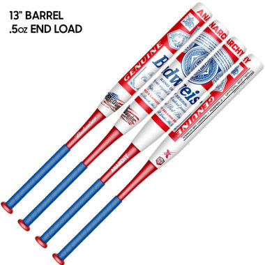 Anarchy 2020 Budweiser – Collectors Edition – 2PC – USA/ASA Slowpitch Softball Bat