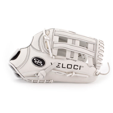 Boombah Veloci GR Fastpitch Glove with B4 H-web White