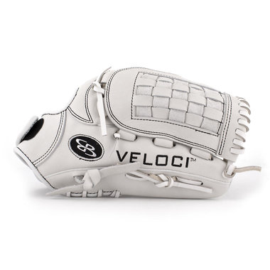 Boombah Veloci GR Fastpitch Glove with B7 Basket-web White