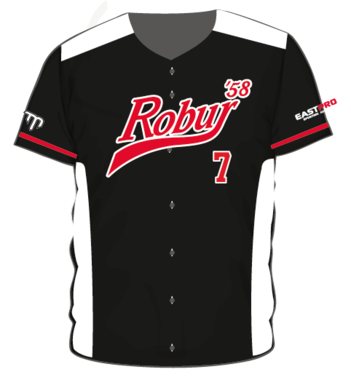 Robur '58 Full Button Baseball Jersey