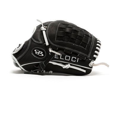 Boombah Veloci GR Fastpitch Glove with B7 Basket-web Black/White