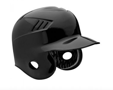 Adult Batting Helm Zwart