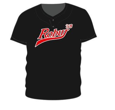 Robur 2-Button Jersey (Zwart)