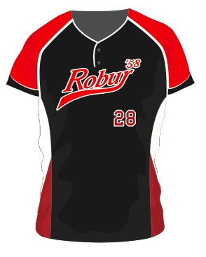 Robur Softball Jersey (Zwart)