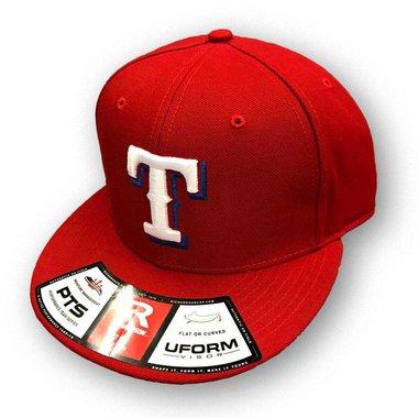 Tex Town Tigers FlexFit Cap Rood