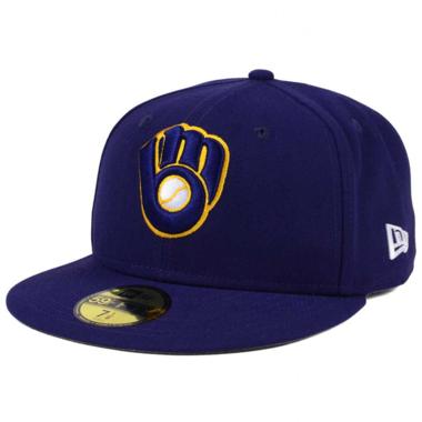 Milwaukee Brewers Cap (+ gratis Cap Buddy)