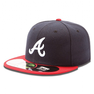 Atlanta Braves Cap (+ gratis Cap Buddy)