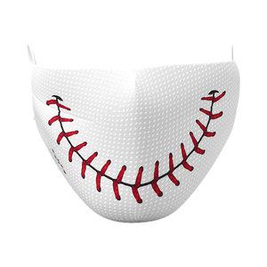 Baseball Smile Elastic Over Ear Face Mask