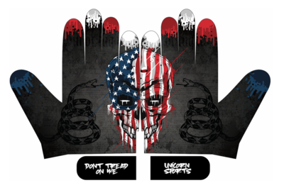 Unicorn Patriotic Batting Gloves