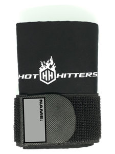 Hot Hitters Wrist Compression Sleeve with Strap