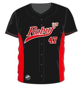 Robur Full Button Jersey (Zwart)
